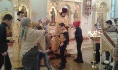 Глухие дети из школы-интерната №1 г. Энгельса молились в нашем храме