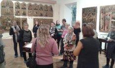 Экскурсия для глухих и слабослышащих прихожан нашего храма по художественному музею имени А.Н. Радищева