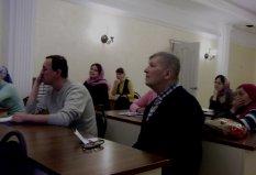 Встреча со слушателями воскресной школы для глухих и курсов жестового языка - 3