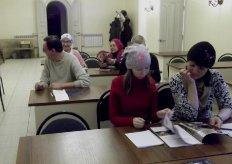 Встреча со слушателями воскресной школы для глухих и курсов жестового языка - 4
